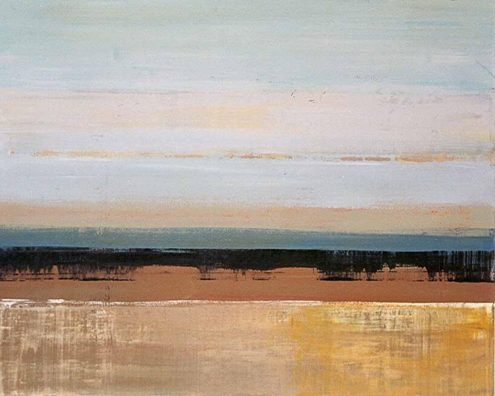 Schilderij Buitenruimte Helmuth van Galen, Afrikaans landschap ∙ 80 x 100 cm ∙ 2001 acryl/linnen ∙ Particulier bezit