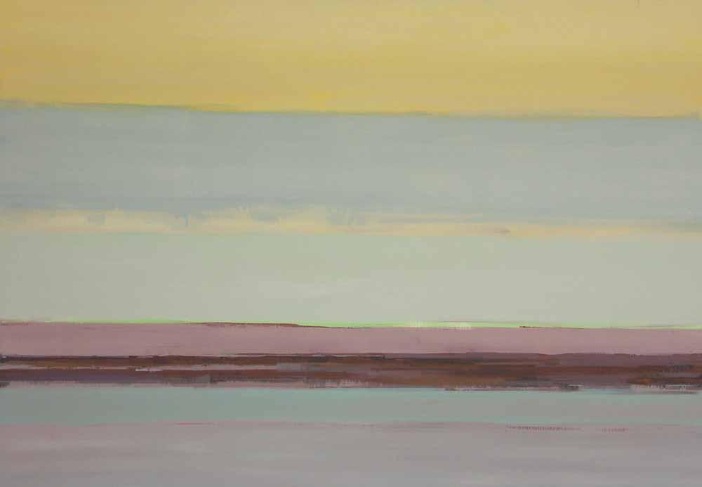 Schilderij Helmuth van Galen Buitenruimte II ∙ 120 x 170 cm ∙ 2003 ∙ acryl/linnen ∙ Particulier bezit