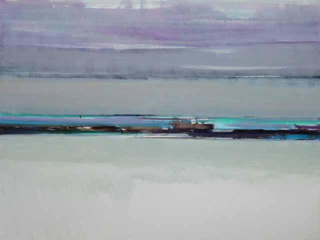 Schilderij Helmuth van Galen Buitenruimte ∙100 x 160 cm ∙ 2016 ∙ acryl/linnen