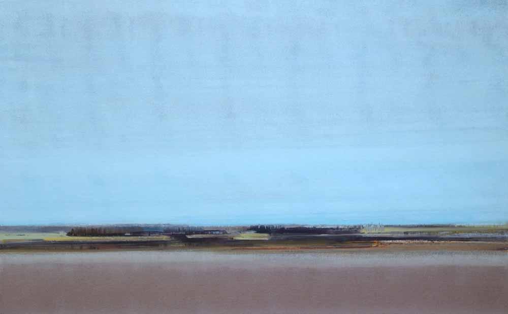 Schilderij Helmuth van Galen Buitenruimte II ∙ 80 x 50 cm ∙ 2016 ∙ acryl/linnen