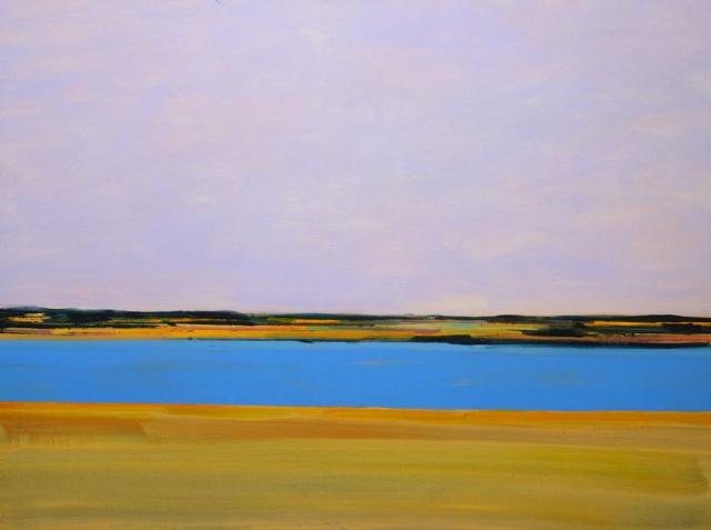 exotische kleuren, blauwe lucht, water, blauw, abstract, warme kleuren, levendig