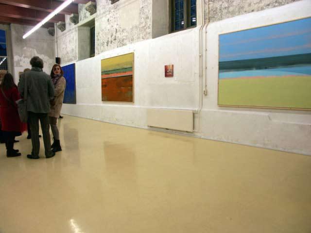 """Noord-Holland Biënnale """"Lang Leve de Schilderkunst"""" Helmuth van Galen in Boterhal Hoorn, keuze van Hans Sizoo, Gea Karhof en Vincent Vlasblom"""
