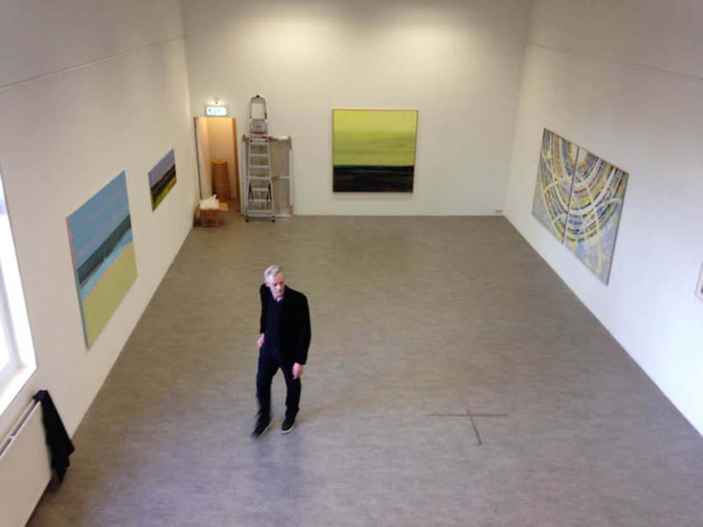 2016 Tentoonstelling Helmuth van Galen, museum Waterland, met Joris Geurts