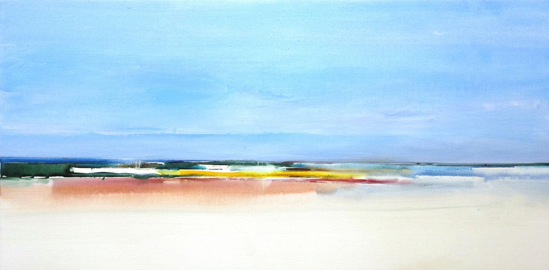 zee, water, blauw, abstract, helder, fris, vrolijk, Helmuth van Galen, kleurig